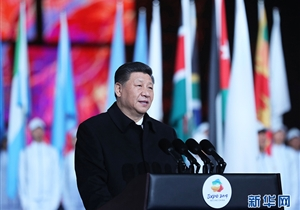 习近平在2019年中国北京世界…